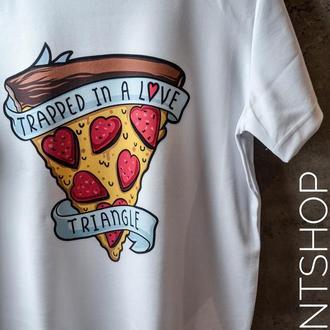 Мужская футболка с оригинальным принтом