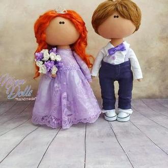 Інтер'єрна лялька Пара в стилі Прованс
