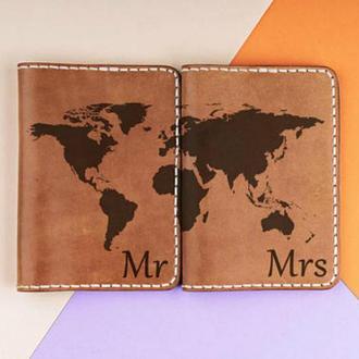 Парные обложки на паспорта