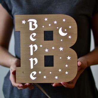 Светодиодный ночник-буква - Beppe