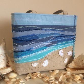 Текстильная сумка «Море»