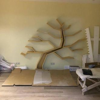 полка дерево ручной работы