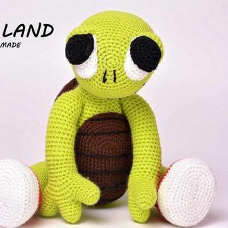 Вязаная игрушка Черепаха Фрейд