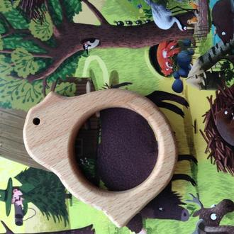 Деревянный грызун - прорезыватель птичка, грызунок