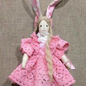 Кролик текстильный
