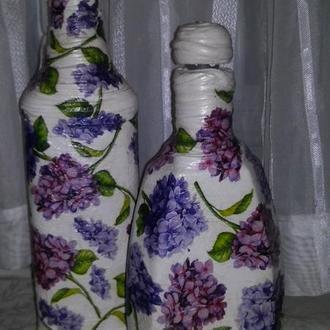 """Яркие бутылочки """"Весеннее настроение"""""""