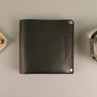 Кожаное портмоне / кошелек натуральная кожа. Гаманець