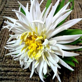 Резинка Хризантема из фоамирана (фома)