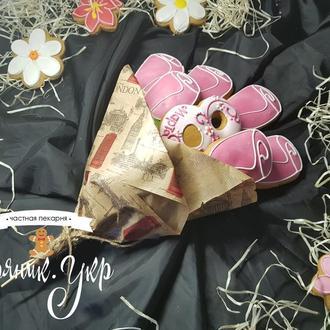 Букеты цветов из пряников. Сьедобные