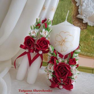 """Свадебные свечи """"Королевское торжество"""""""