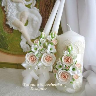 """Свадебные свечи """" Angel"""""""
