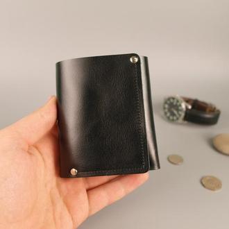 Кожаный кошелек портмоне гаманець натуральная кожа