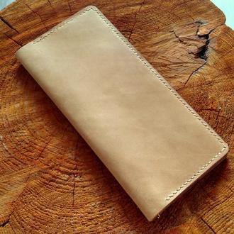 Кожаный кошелек портмоне