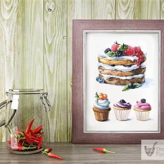 """Картина на кухню """"Sweets"""""""