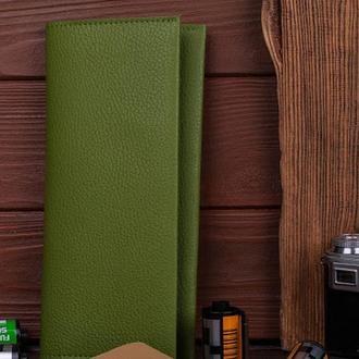 Кожаный женский кошелек Travel wallet