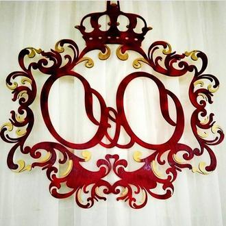 Весільні ініціали(Весільні герби) на замовлення.