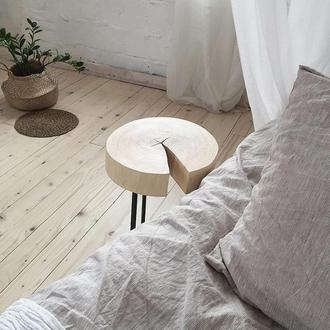 Кофейный или прикроватный стол из спила