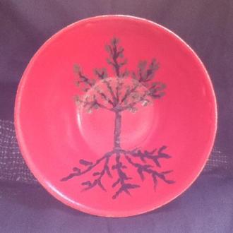 Большая тарелка ручной работы