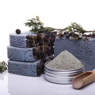 Голуба глина•Евкаліпт•М'ята•Ялівець