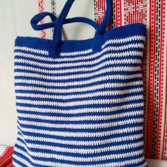 Женская сумка. Летняя сумка. Пляжная сумка