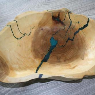 Фруктовница из дерева