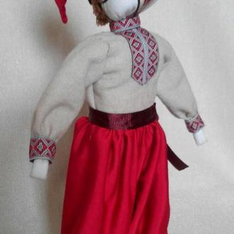 Кукла мотанка мужчина казак