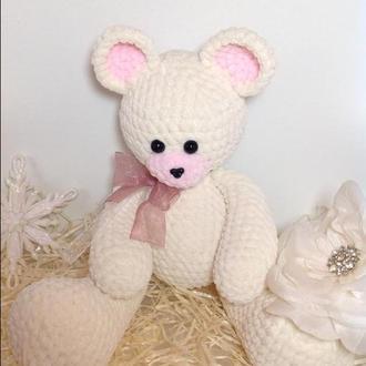 Мишки,вязаный мишка,плюшевые игрушки,тедди