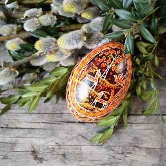 Писанка на гусячому яйці