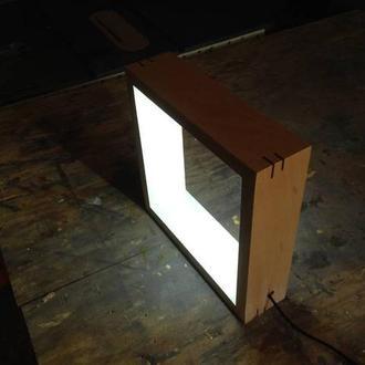 LED Світильник у формі квадрату