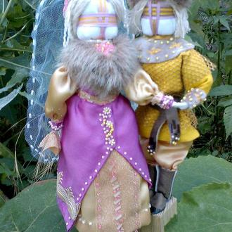 куклы мотанки неразлучники Князь и Княгиня