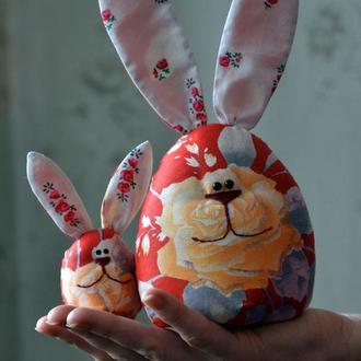 Большой зайчик-яйцо