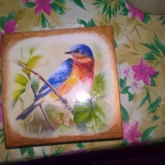 """Чудесная шкатулка,серия """"Райские птицы"""""""