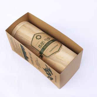 Іван-чай Вогняний Листок (зелений, обсмажений) у дерев'яному тубусі
