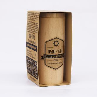 Іван-чай Поліський Бурштин у дерев'яному тубусі