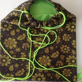 Сумка рюкзак внутри с кармашком