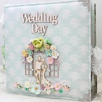 Большой свадебный фотоальбом , подарок на свадьбу