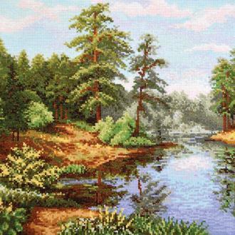 """Набор для вышивания крестиком """"Лесной пейзаж"""""""