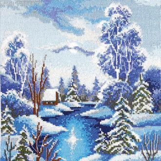 """Набор для вышивания крестиком """"Зима"""""""