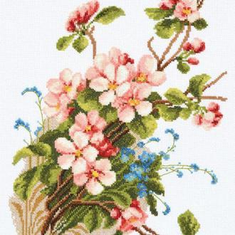 """Набір для вишивання хрестиком """"Яблуневий цвіт"""""""
