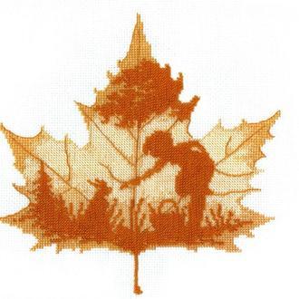 """Набор для вышивания """"Осенний силуэт"""""""