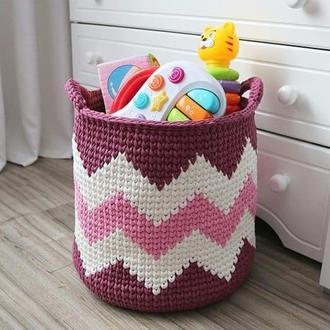 Корзина для игрушек в детскую