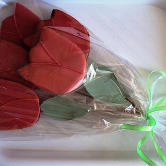 """Имбирные пряники """"Букет тюльпанов"""""""