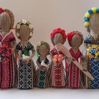 """""""Берегиня"""" Лялька-мотанка. Зріст 10-15, 22, 26 см."""
