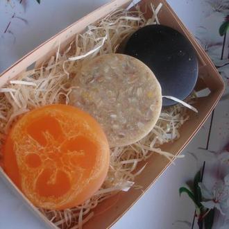 Мыло-скраб, подарочный набор