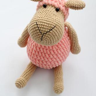 Зефирная овечка, плюшевая овечка (Плюшевий баранчик)