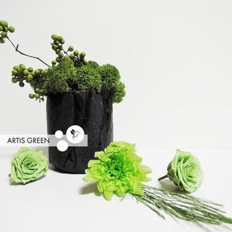 Экосувенир из бетона и стабилизированного мха от ARTIS GREEN