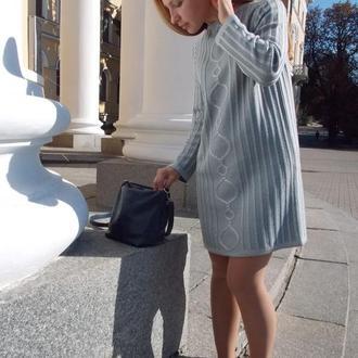 Вязаное платье ОВ1501