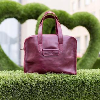 """Женская кожаная сумка шоппер """"Париж"""""""