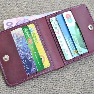 Стильный легкий кошелек из натуральной кожи K32-800