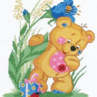 """Набор для вышивания крестиком """"Медвежонок"""""""